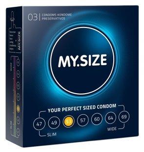 """Kondome """"53 mm´´ mit wenig Eigengeruch"""