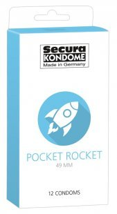 "Kondome ""Pocket Rocket´´, 49 mm"