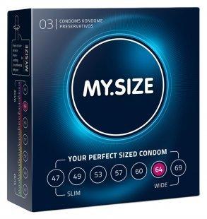 """Kondome """"64 mm´´ mit wenig Eigengeruch"""