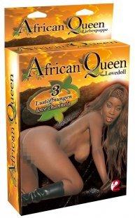 """Liebespuppe """"African Queen´´ mit 3 Öffnungen"""