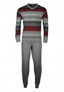 hajo Polo & Sportswear hajo Polo & Sportswear Schlafanzug grau