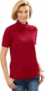 Classic Basics Pullover mit gerippten Bündchen