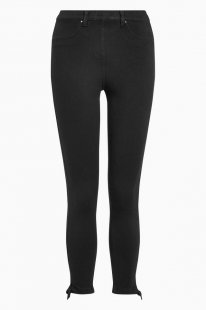 Next Jersey-Leggings mit Cropped-Fit