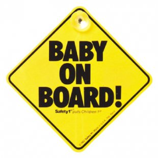 "Safety 1st ""Baby On Board´´ - Schild"