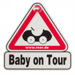 reer Autoschild - Baby on Tour