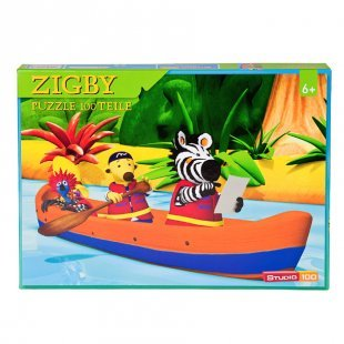 STUDIO 100 Zigby - das Zebra Puzzle 100 Teile