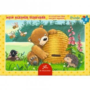 COPPENRATH Kleines Rahmenpuzzle Mein kleiner Teddybär 8T.