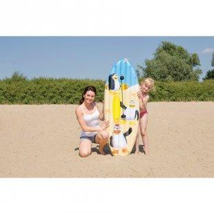 HAPPY PEOPLE Surfboard Pinguin, ca. 145x45cm
