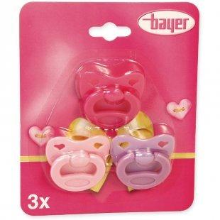 bayer Design Schnuller-Set für Puppen 79104AA