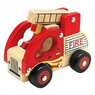 Bino Holzauto Feuerwehr
