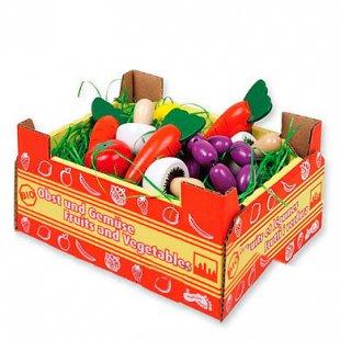 small foot design® Stiege mit Gemüse