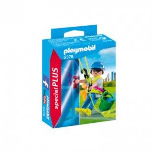 playmobil ® specialPLUS Gebäudereiniger 5379