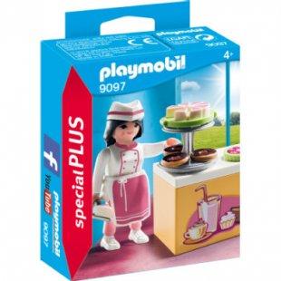 playmobil ® SpecialPLUS Konditorin mit Kuchentheke 9097