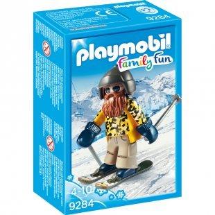 playmobil® Family Fun Skifahrer mit Snowblades 9284