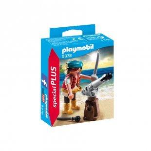 playmobil® specialPLUS Pirat mit Kanone 5378