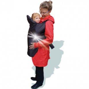Sunnybaby Regencape für Babytrage Luna Schwarz