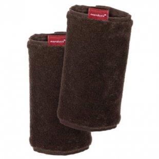 Manduca Fumbee Gurtschoner brown Doppelpack - braun
