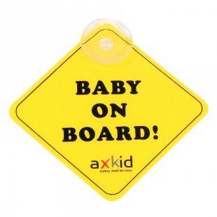 AXKID Schild Baby on Board