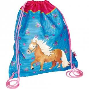 COPPENRATH Mein kleiner Ponyhof Turnbeutel blau