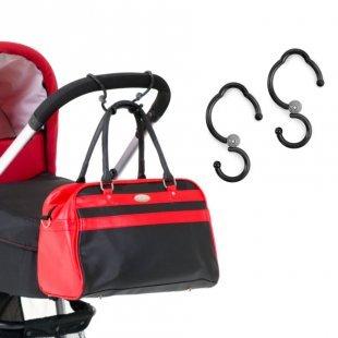 hauck Taschenhaken für Kinderwagen Hook Me
