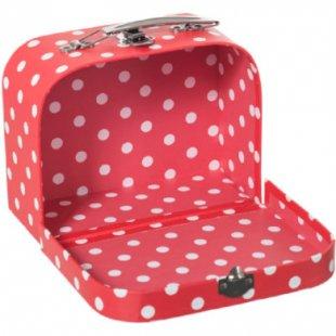 bieco Koffer mit Dots, klein