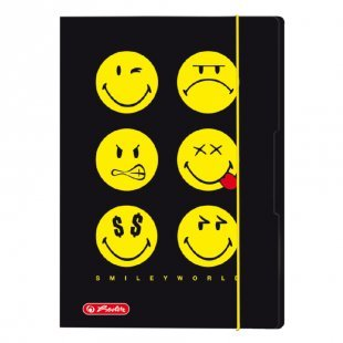 herlitz Sammelmappe A3 Smiley World Black