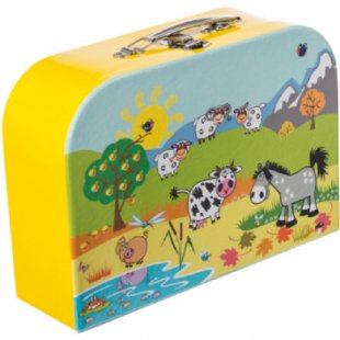 bieco Koffer Tiermotiv, groß