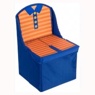 bieco Kinderfaltstuhl Blau - blau