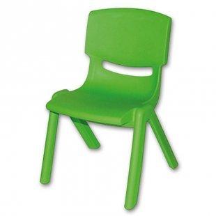 BIECO Kinderstuhl grün aus Kunststoff