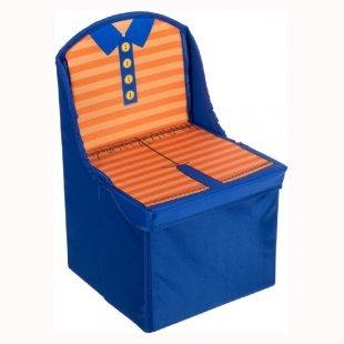 BIECO Kinderfaltstuhl Blau