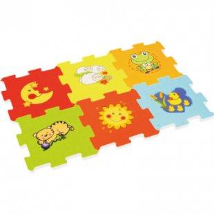 bieco Spiel Puzzlematte / Würfel