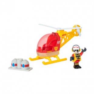 Brio ® WORLD Feuerwehr-Hubschrauber 33797