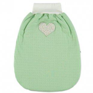 Little Retro Puckack grün Herz 50 cm