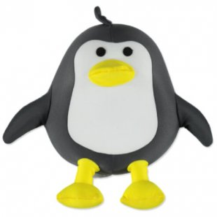 Hütte & Co Tierform Kinderkissen Pinguin