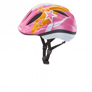 KED Kinder Fahrradhelm Meggy Pink Stars