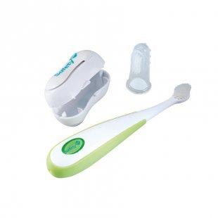 Safety 1st Zahnbürsten Set 1 weiß/grün