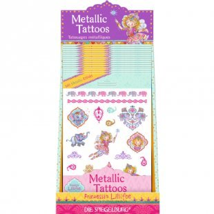 COPPENRATH Metallic Tattoos Orient Prinzessin Lillifee