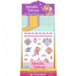 Coppenrath Metallic Tattoos Orient Prinzessin Lillifee