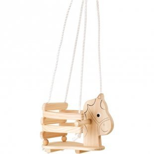 small foot design® Kinderschaukel Pferd aus Holz