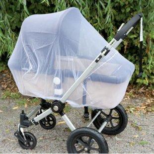 Alvi Mückennetz für Kinderwagen, weiß (94401)