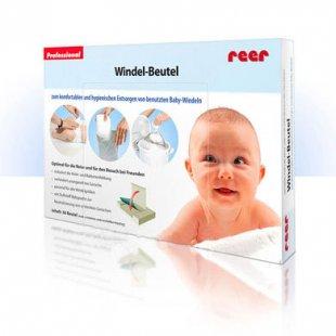 reer Windel-Beutel 50 Stück - transparent