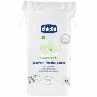 chicco baby moments Wattepads Windelwechsel Momente 0M+ 60St.