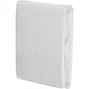 FILLIKID Spannleintuch Jersey 90 x 40 cm weiß