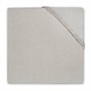 jollein Spannlaken Jersey sand 40x80cm - beige - Gr.40x80 cm
