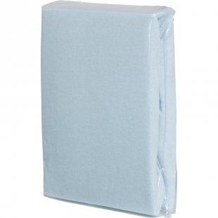 FILLIKID Spannleintuch Jersey 90 x 40 cm hellblau