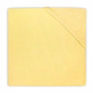 jollein Spannlaken Jersey gelb 40x80cm - Gr.40x80 cm