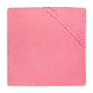 jollein Spannlaken Jersey raspberry 40x80cm - Gr.40x80 cm