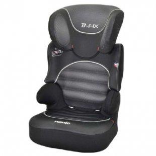 NANIA Kinderautositz BeFix SP Graphic Black - schwarz