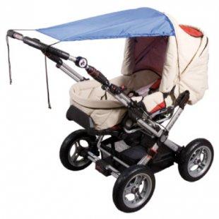 Sunnybaby Markise für Kinderwagen UPF 50+ Royal - blau