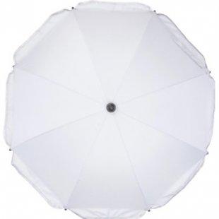 fillikid Sonnenschirm mit ovalem Unterteil silberweiß